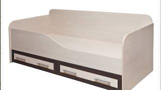 Обзор: Кровать детская односпальная М 11+матрас DreamLine BabyHoll(В видео рассказываю о покупке детской кровати 190 на 80 см с сайта кровати48 и о матрасе 190 на 80 с сайта dreamline., 2015-10-30T19:21:55.000Z)
