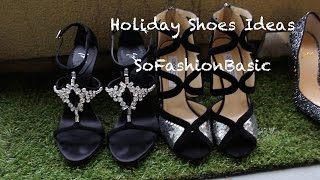 Holiday Fashion Shoes Ideas| SoFashionBasic Thumbnail