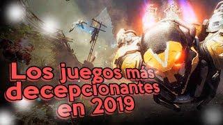 Los Juegos más decepcionantes del 2019 I Fedelobo