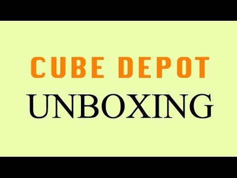 Cube Depot Unboxing #1