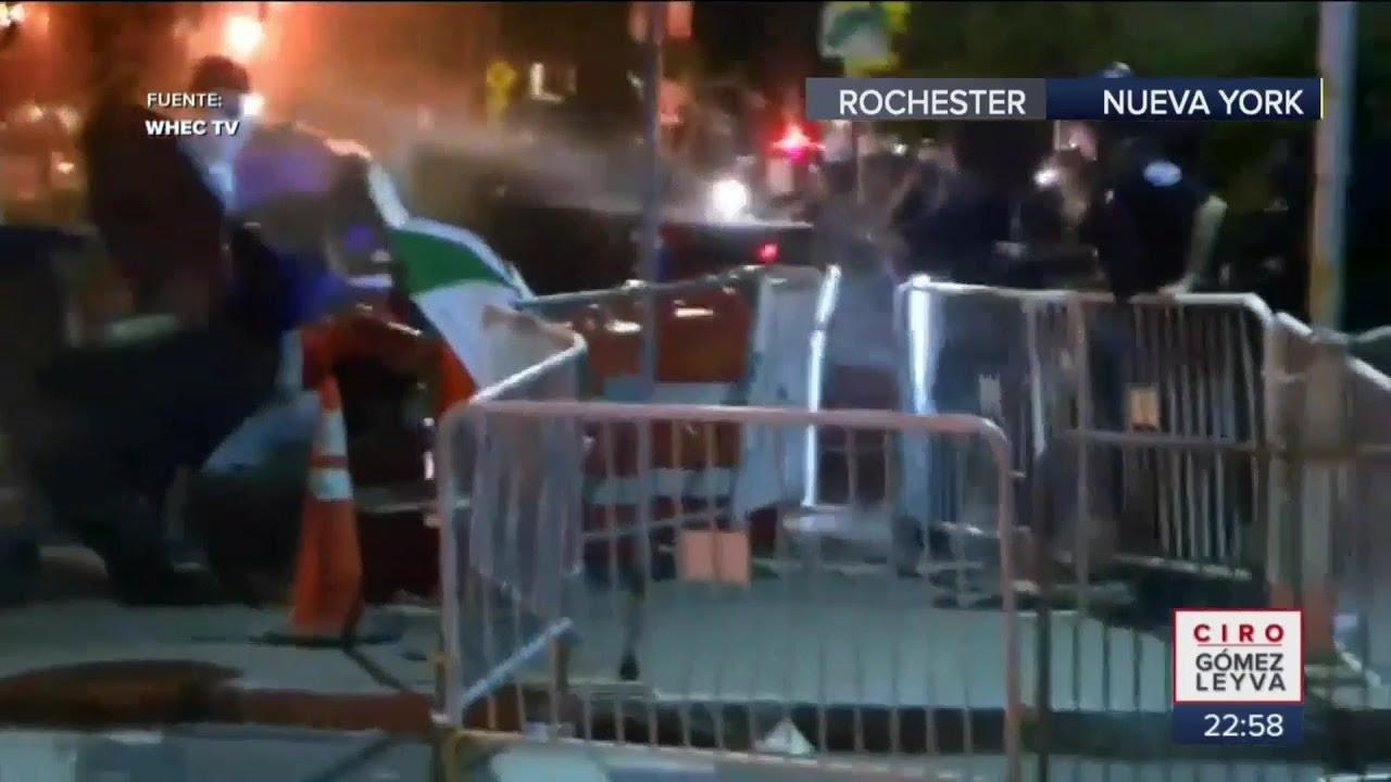 Caso Daniel Prude. Protestan contra violencia racial en Rochester | Noticias con Ciro Gómez Leyva