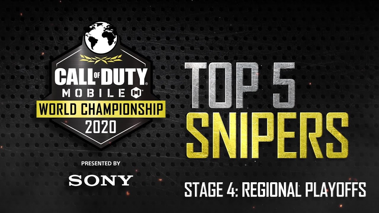 Call of Duty®: Mobile - World Championship 2020 Regional Playoffs   Top 5 Snipers