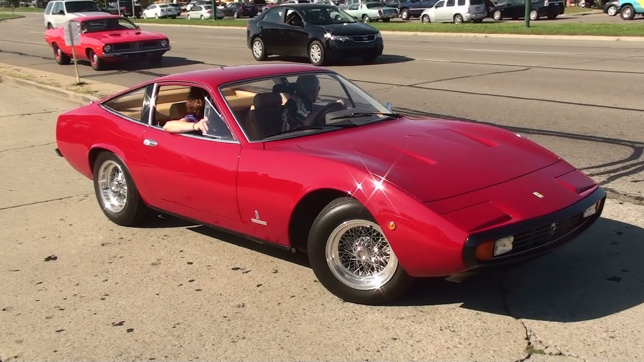 Ferrari 365 gtc4 rev and accelerate youtube vanachro Image collections