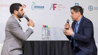 Thomas Ventura of Qure Water Livestream Studio Interview  at BevNET Live Winter 2018