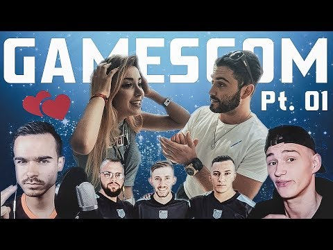 DAS ERSTE MAL mit ANNI THE DUCK | Gamescom MAGIC Vlog | SOS FOR REAL