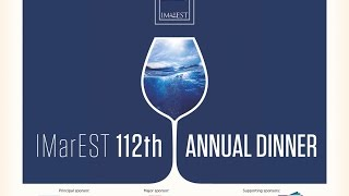IMarEST 112th Annual Dinner, Friday 13th March 2015, Guildhall, London