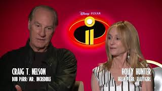 INCREDIBLES 2 Interviews