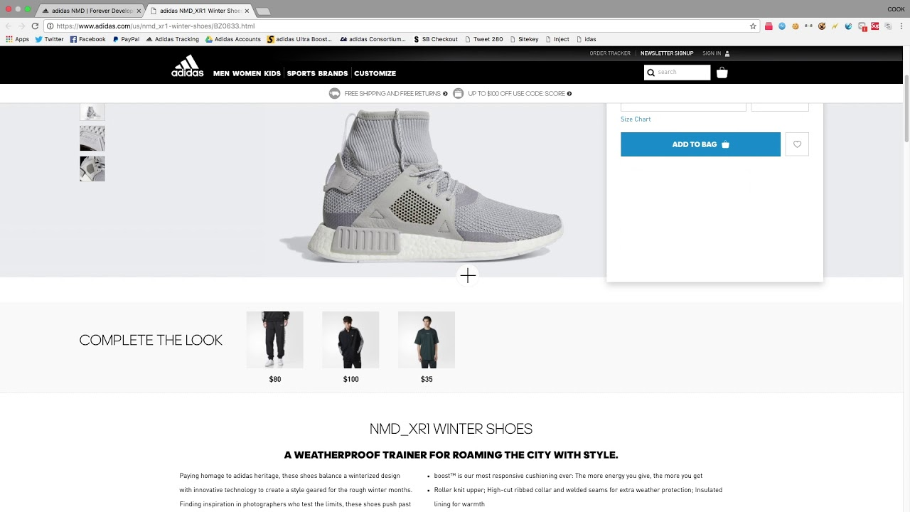 Adidas Yeezy Add-To-Cart Early Jig / Wishlist Jig (PATCHED)