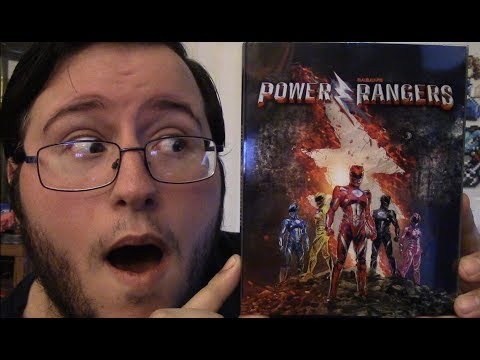 """Power Rangers """"Only @Bestbuy"""" Exclusive Blu-ray - Unboxing"""