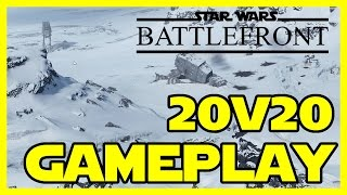 20v20 Multiplayer Star Wars Battlefront PC Ultra 1080p | No Commentary - Gameplay Part 1