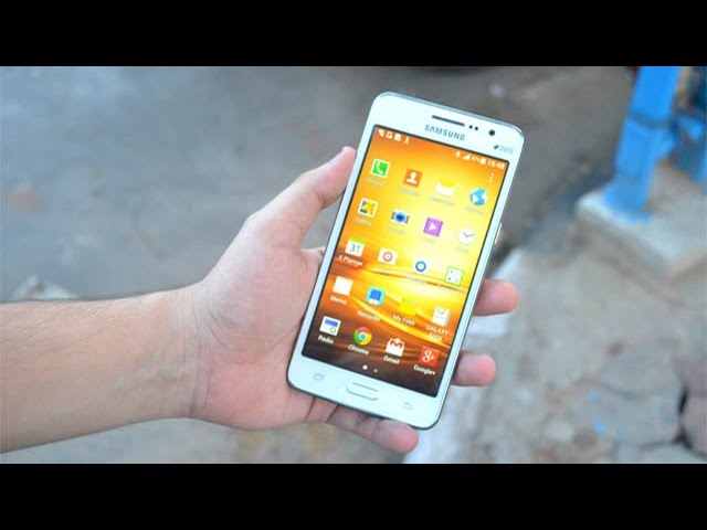 Samsung Galaxy Grand Prime Sm G530h The Selfie Focused Smartphone Impressions Hands On Review Youtube