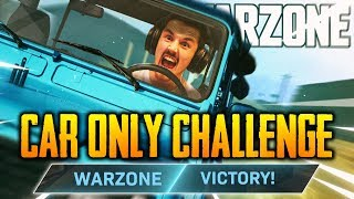 CAR ONLY VICTORY! (Call of Duty: Warzone)