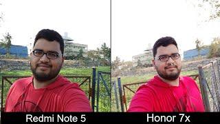 Redmi Note 5 vs Honor 7X Camera Comparison
