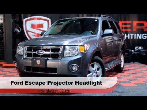 Spyder Auto Installation 2008 12 Ford Escape Halo Projector Headlights