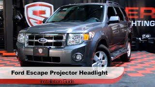 Spyder Auto Installation: 2008-12 Ford Escape Halo Projector Headlights