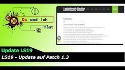 Landwirtschafts Simulator 19 Update 1.3