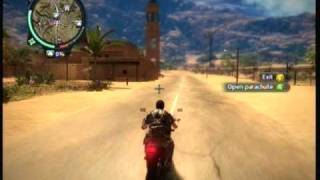 Just cause 2 demo (free roam for fun)