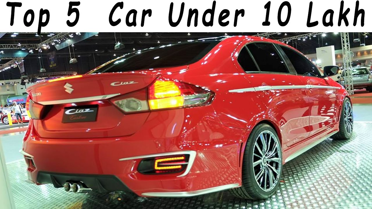 Top 5 Best Cars in india Under 10 Lakh l 2017 Edition - YouTube