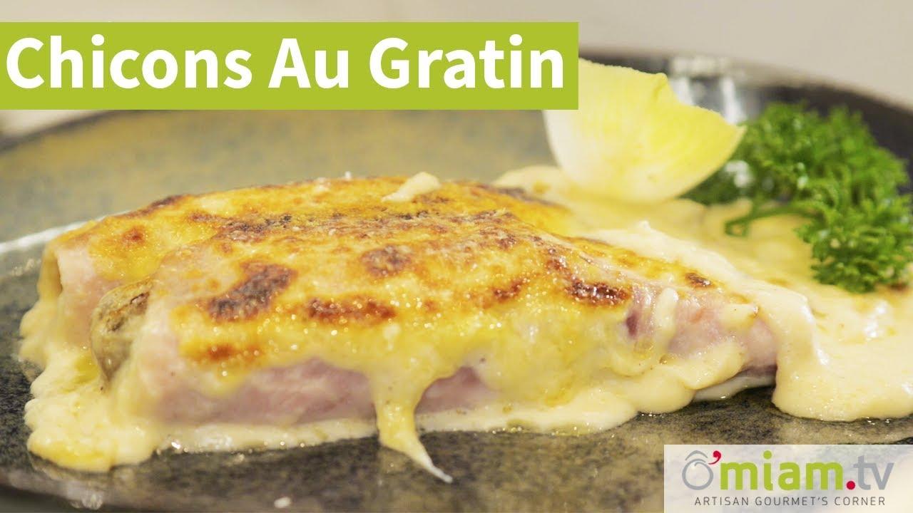 Chicons Au Gratin/Endives Au Jambon - Recette Simple & Rapide
