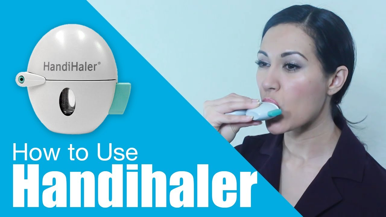 How to use Handihaler - YouTube