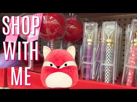 *LIVE* WALGREENS SHOP WITH ME | NEW VALENTINE'S DAY ITEMS!!