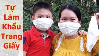 How to make paper masks easy