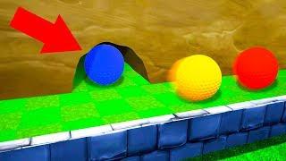 ТОЛЬКО ИЗБРАННЫЙ НАЙДЕТ ЭТОТ СЕКРЕТНЫЙ ПРОХОД! ПРОШЛИ 100% МЕГА ТРОЛЛЬ КАРТУ В ГОЛЬФ ИТ (Golf It)