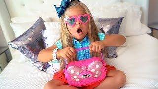 ديانا تستعد للذهاب إلى حفلة عيد ميلاد للأطفال