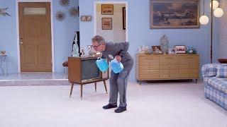At Home: Jug Row, Knee Push-ups, Sit-ups, Squats