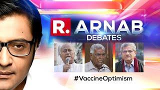 Cynics Attack PM Modi's '100 Crore Vaccine Milestone' Address   The Debate With Arnab Goswami