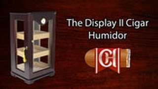 The Display Ii Cigar Humidor