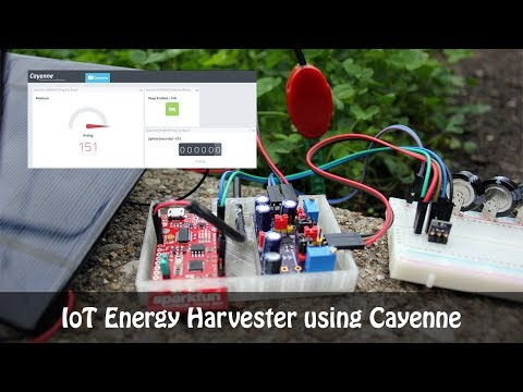 IoT Energy Harvester using Cayenne