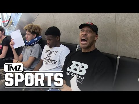 LaVar Ball: I Benched 500 Pounds, But Here's Why NFL Career Failed   TMZ Sports
