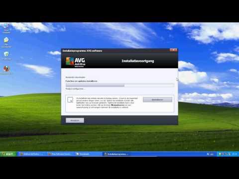 AVG Installatie op Windows XP