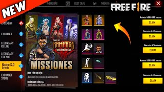 Free Fire Upcoming New Event || Rampage Event Rewards || Next M60 Incubator || Garena - Free Fire