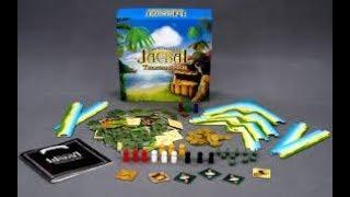 распаковка и обзор настольной игры Шакал(Остров Сокровищ)-Jacal(Treasure Island)