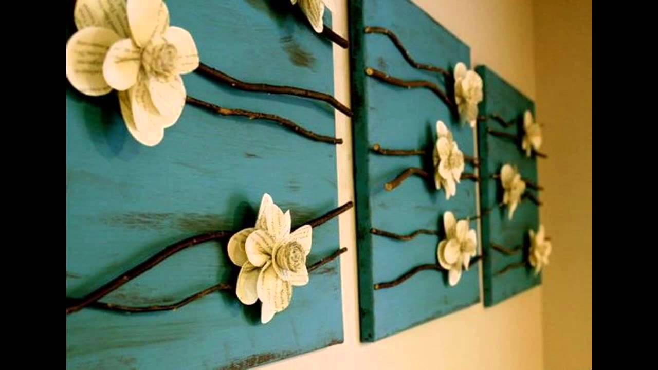 Creative Wall decor ideas diy - YouTube