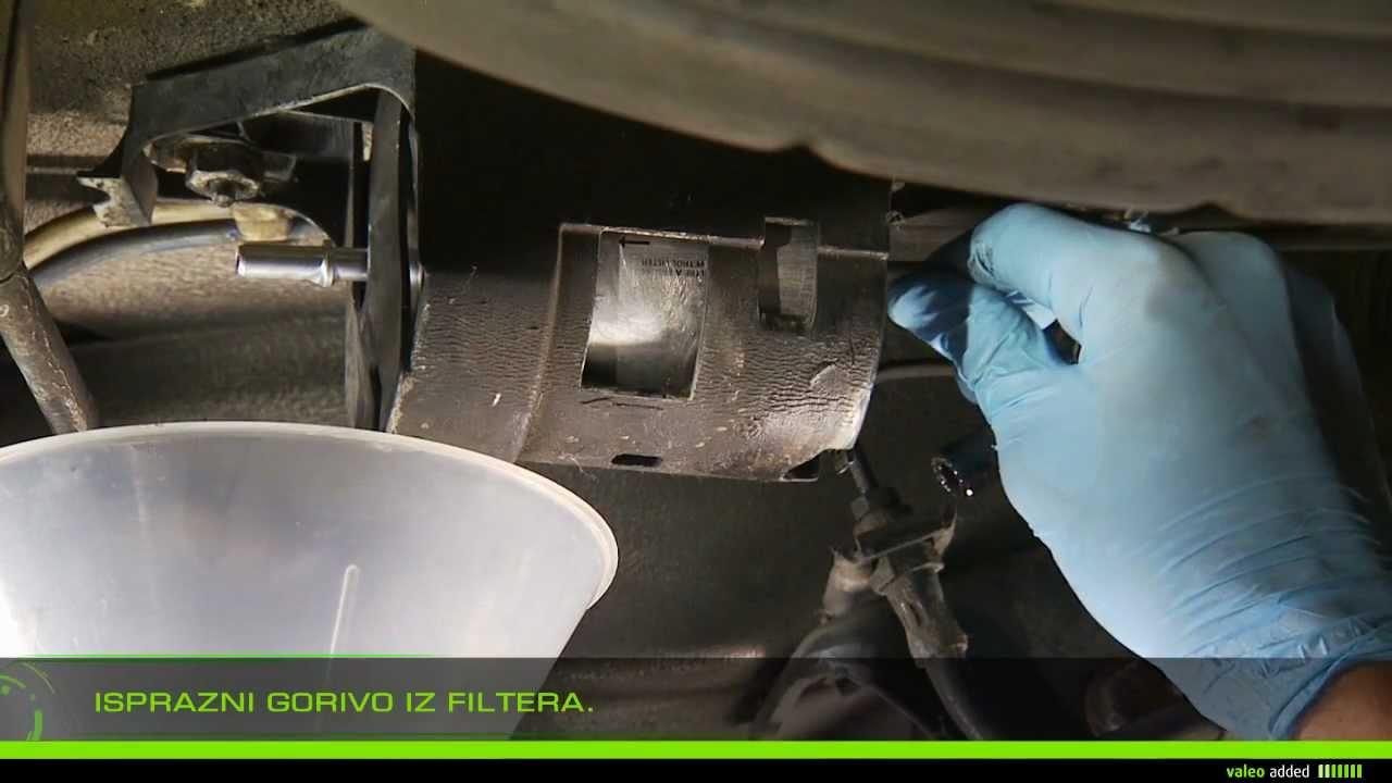 Valeo Filter za gorivo  oprema filtera za gorivo in line type  YouTube