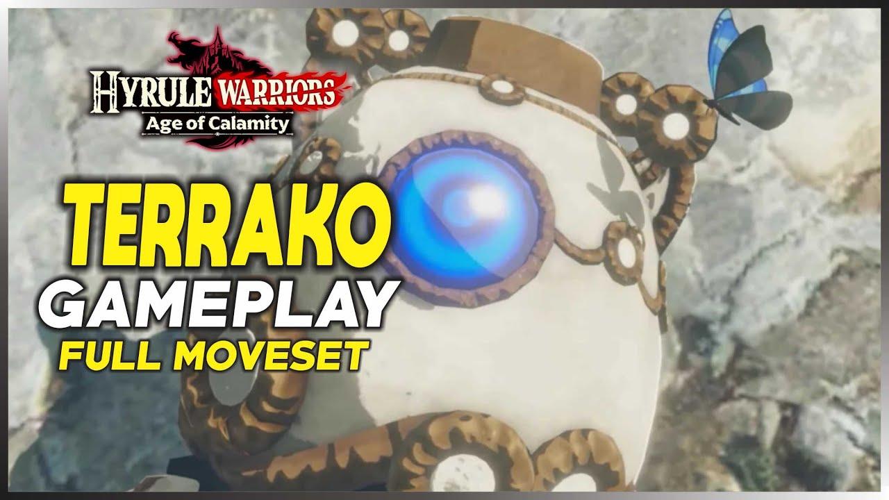 Hyrule Warriors Age Of Calamity Terrako Full Moveset Gameplay Youtube