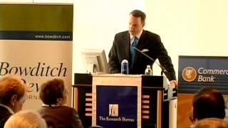 Edward Glaeser, Harvard University, Investing in Urban Resurgence (April 28, 2010)