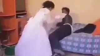 أغرب فيديو لعروسين في ليلة الدخلة.. لن تصدق ما فعلا | البوابة