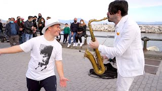 """Download """"DANCE MONKEY 2"""" - Street Sax Performance (AFTER Covid19)"""