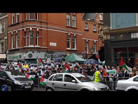 London Protest for Jerusalem - LIVE
