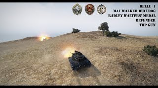 M41 Walker Bulldog, Radley Walters' Medal, Defender and Top Gun