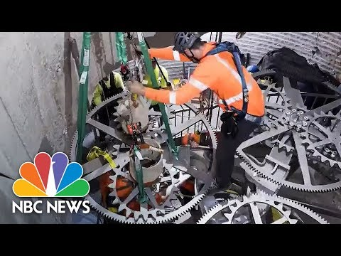 Huge Clock Hidden In Texas Mountain Is Designed To Tick For 10,000 Years | NBC News