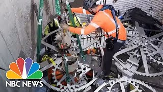 Huge Clock Hidden In Texas Mountain Is Designed To Tick For 10,000 Years   NBC News