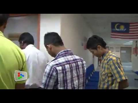 vid1213a - Teen boys caned in open court - Malaysia 2013