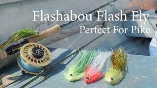 Flashabou Flash Fly streamer Perfect for pike