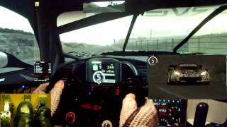 AC - Highland Long - Chevrolet Corvette C7R - online GT2/3 race - fast lap