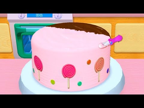 My Bakery Empire - Bake, Decorate & Serve Cakes Games For Kids - Play Fun Baby Learn Colors Games